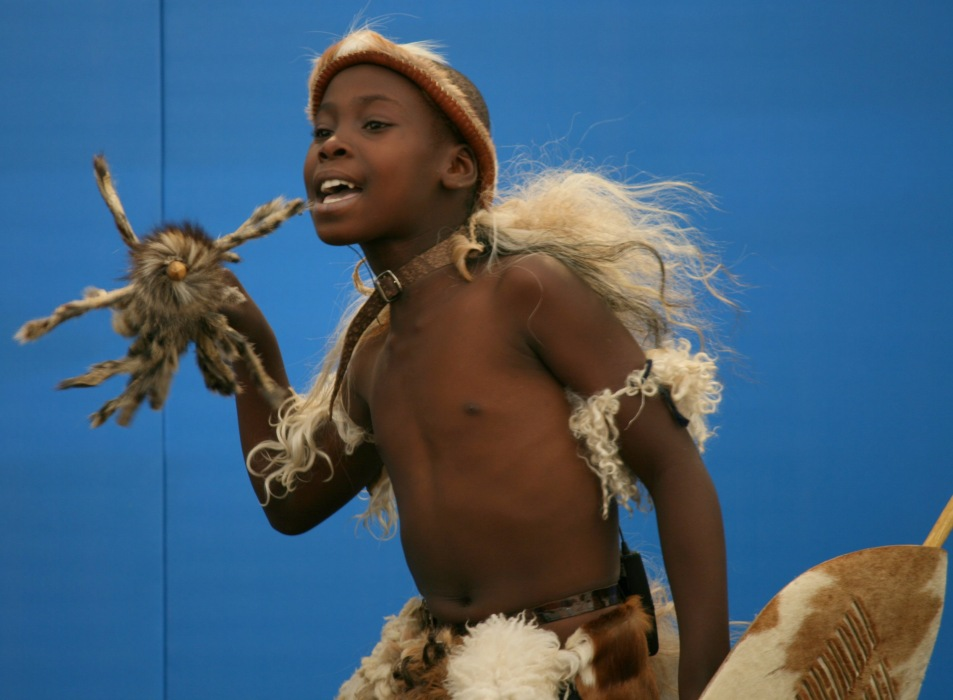 photoblog image Young Zulu warrior