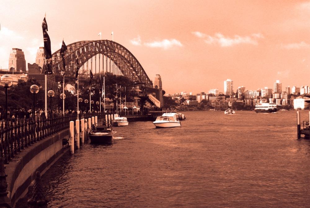 photoblog image Sydney Habour Bridge