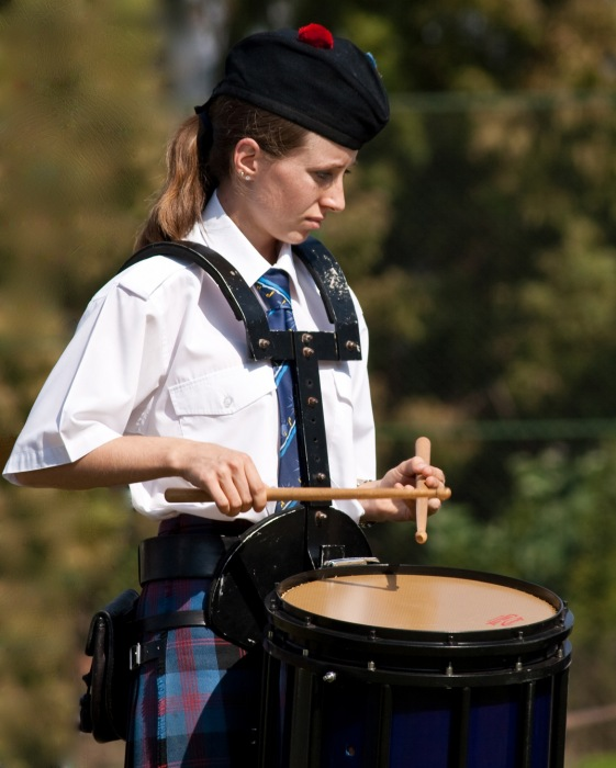 photoblog image little drummer girl